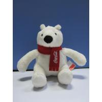 12cm Christmas Coca Cola Polar Bear Stuffed Animal Cute Push Keychain Manufactures