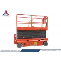 Battery Hydraulic Self Propelled Scissor Lift Table with 14m Platform Height Manufactures