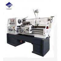 Horizontal Manual Lathe Machine 65 - 1400rpm Spindle Speed 380V / 220V Voltage Manufactures