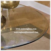 High Quality Round Shape Dining Table Glass Manufactures