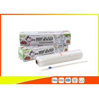 Customized Hand Stretch Wrap Film , PE Strech Film Jumbo Roll For Pack Food Manufactures