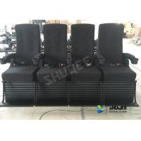 Playground Center 4D Movie Theater Motion Chair Bubble / Fire / Smoke Effects Manufactures