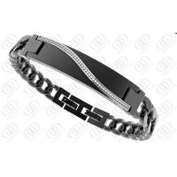 Medical Id Stainless Steel Bracelets Engraveable 240mm Length Manufactures