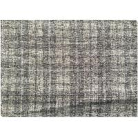 150CM 15% Wool Tartan Fabric 500g ,  85 Polyester Warm Woven Wool Fabric Manufactures