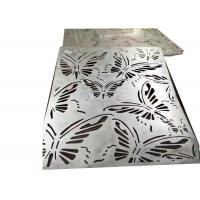 Curved Decorative Sheet Metal Panels Special Designed With Galvanized Surface Manufactures