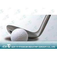 Wrought Titanium Golf Head Metal Forgings , High Performance Titanium Driver Head Manufactures