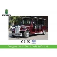 Large Load Capacity Vintage Cart With Foldable Rain Shade  / 48V ENPOWER Controller Manufactures