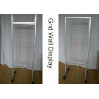 Buy cheap OEM Supmarket Two Sides Iron Display Stand from wholesalers