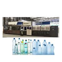 Sports Drink Blowing Filling Capping 3 In 1 Monoblock Servo Stretch Blower Manufactures
