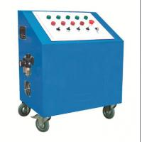 China Insulating Glass Gas Filling Machine Double Glazing Equipment 4 Pcs At One Time CE on sale