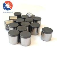 China factory price PDC cutters/tungsten carbide PDC cutters used for oil drilling bits Manufactures