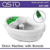 Ion detox foot spa with pads Manufactures