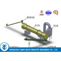 High Efficiency Rotary Drum Dryer Machine Large Output for Chemical Fertilizer Manufactures