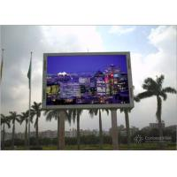 Fixed Installation Waterproof LED Screen 4m X 3m For Front Advertising Manufactures
