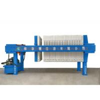 Hydraulic Pressure Industrial Filter Press Semi - Automatic For Chemical Industry Manufactures