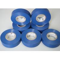 0.18MM Thickness UL / CAS  PVC Flame Retardant Tape Blue Achem Wonder Manufactures