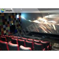 Wind / Rain / Snow 4 Dimensional Movies 4-D Movie Theater With 4D Motion Ride Manufactures