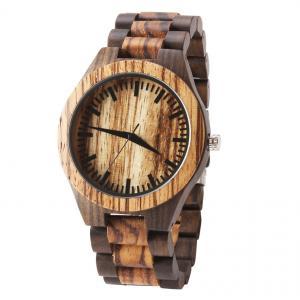 China Personalized custom design quartz wooden watch wrist wood watches on sale