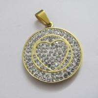 High Quality Crystal Jewelry Stainless Steel Pendants for Women Manufactures