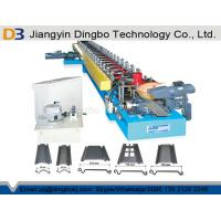 Quality Galvanized Steel Roller Shutter Spring Door Roll Forming Machine 5.5 KW Driving Motor Siemens PLC Control System for sale
