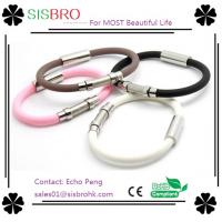 China Top Quality Silicone Energy Bracelet on sale