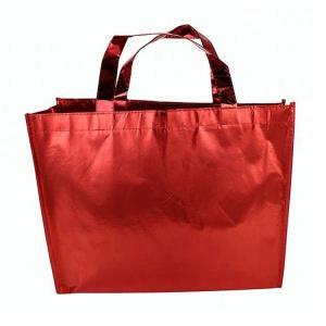 Recycling Laminated Non Woven Bag Non Woven Promotional Shopping Bag Manufactures