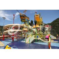 14.5m Indoor Playground Water Park , Commercial Water Playground Equipment 29 x 27m for Gaint Water Park Manufactures