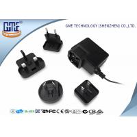 1.5M Cable Interchangeable ac dc 12v power adapter / Universal AC DC Adapters Manufactures