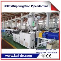 Plastic Pipe Extrusion Machine for PE Drip Irrigation Pipe Production line KAIDE factory Manufactures
