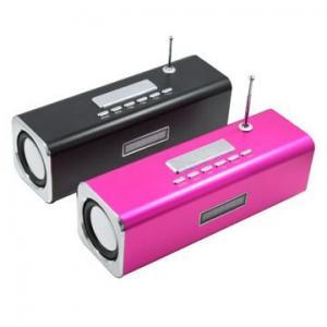 SD / MMC slot, USB Port built-in Li-ion batte Portable Mini Speaker TT2 Manufactures