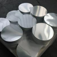 China Smooth Bright Surface Aluminum Disk Blanks / Round Aluminum Blanks ISO9001 on sale