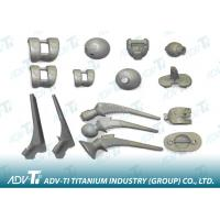 ASTM B367 0.8mm Titanium Investment Casting Hip replacement joint Manufactures