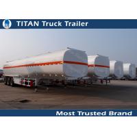 3 Axles 45000 liters 5 compartments fuel tanker trailer for oil transportation Manufactures