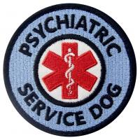 Service Dog Patches Embroidered Sewing Applique Sew On Animal Patches Manufactures