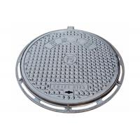 Manhole Cover Parts Ductile Cast Iron Casting QT450-10 Material OEM Custom Castings Manufactures