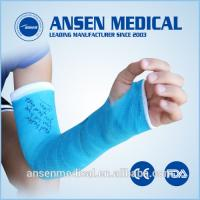 Medical Dressings Fracture Fixation Orthopedic Casting Tape Colored Fiberglass Casting Bandage Manufactures