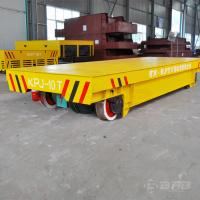 Customized Color Coil Transfer Cart For Foundry Plant Push Button Pendant Control Manufactures