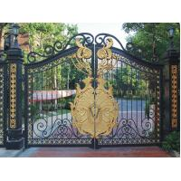 Wrought Iron Cast Iron Decor Security Entrance Cast Iron Garden Gate Tree Shaped For Home Ornaments Manufactures