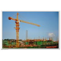 China Self Erecting Construction Tower Crane With Steel Structure 4.25 - 80 m/min Hoisting Speed on sale