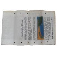 Strong BOPP Laminated PP Woven Bags With Square Bottom 5 -50 Kg Moisture Resistant Manufactures