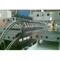 Half - Crust Foamed PVC Sheet Production Line For Furniture Board Making Manufactures