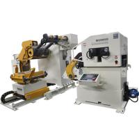Sheet Metal Forming Plate Straightening Machine / Automatic Shearing Feeder Manufactures