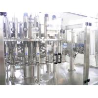 China PET Bottle Hot Filling Machine , Automatic 3 in 1 Beverage Filling Production Line wholesale