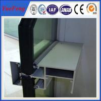 glass roof framing aluminum, top glass aluminum wall, alloy 6063 aluminum curtain wall Manufactures