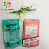 Safe Printed Plastic Pouches Packaging Heat Seal Custom Clear Transparent Window Manufactures