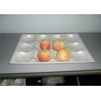 China Environmental Popular PS PE Foam Trays Recyclable For Peach Pear Tomatoes Kiwi on sale