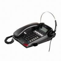 Call Center Headset Telephone/Caller ID, Easy to Install Manufactures