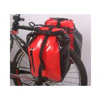 Secure 3 Point Connection Mountain Bike Bag Waterproof Material Red Color Manufactures