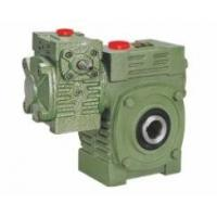 Worm Gear Reducer Mini WPWEK With Motor Gearbox Aluminium / Cast Iron Housing Manufactures