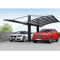 Polycarbonate Home Depot Carport / Powder Coated Arched Roof Carport Manufactures